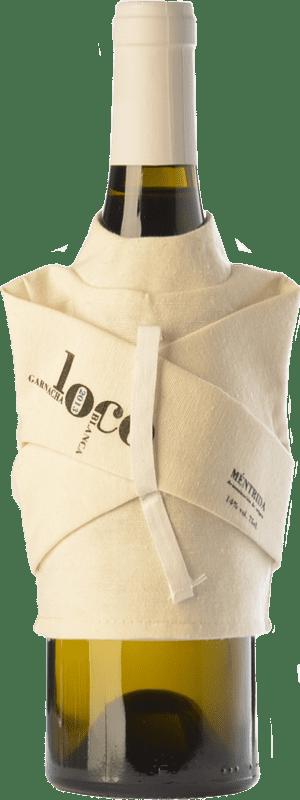 29,95 € Envío gratis | Vino blanco Canopy Loco Crianza D.O. Méntrida Castilla la Mancha España Garnacha Blanca Botella 75 cl