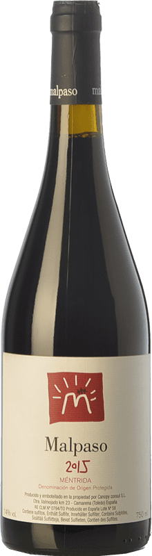 17,95 € | Red wine Canopy Malpaso Joven D.O. Méntrida Castilla la Mancha Spain Syrah Bottle 75 cl