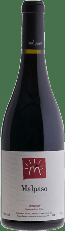 18,95 € Envío gratis | Vino tinto Canopy Malpaso Joven D.O. Méntrida Castilla la Mancha España Syrah Botella 75 cl