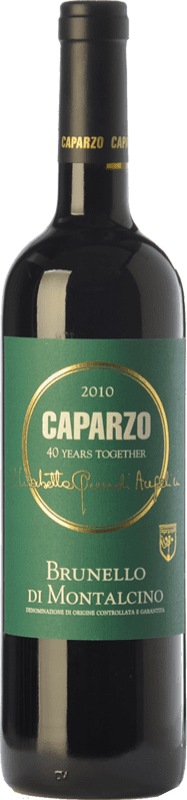 39,95 € Free Shipping | Red wine Caparzo D.O.C.G. Brunello di Montalcino Tuscany Italy Sangiovese Bottle 75 cl