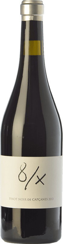 34,95 € | Red wine Capçanes 8/X Crianza D.O. Montsant Catalonia Spain Pinot Black Bottle 75 cl