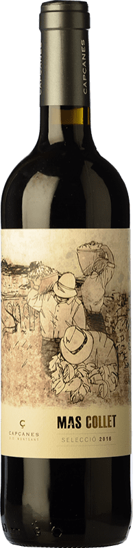 8,95 € Envío gratis | Vino tinto Capçanes Mas Collet Joven D.O. Montsant Cataluña España Tempranillo, Garnacha, Cabernet Sauvignon, Cariñena Botella 75 cl