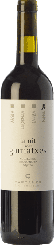 13,95 € Free Shipping | Red wine Capçanes Nit de les Garnatxes Panal Joven D.O. Montsant Catalonia Spain Grenache Bottle 75 cl
