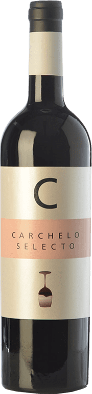 12,95 € 免费送货 | 红酒 Carchelo Selecto Crianza D.O. Jumilla 卡斯蒂利亚 - 拉曼恰 西班牙 Tempranillo, Syrah, Cabernet Sauvignon, Monastrell 瓶子 75 cl