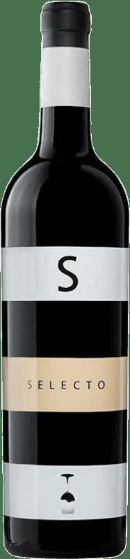 12,95 € Envío gratis | Vino tinto Carchelo Selecto Crianza D.O. Jumilla Castilla la Mancha España Tempranillo, Syrah, Cabernet Sauvignon, Monastrell Botella 75 cl