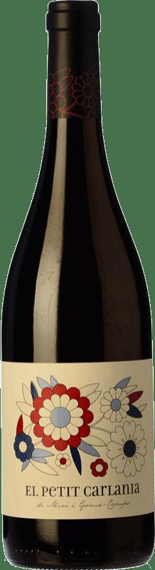 11,95 € Envoi gratuit | Vin rouge Carlania Petit Joven D.O. Conca de Barberà Catalogne Espagne Trepat Bouteille 75 cl