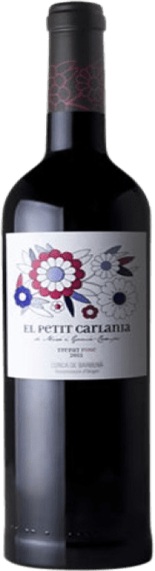 11,95 € Envío gratis | Vino tinto Carlania Petit Joven D.O. Conca de Barberà Cataluña España Trepat Botella 75 cl