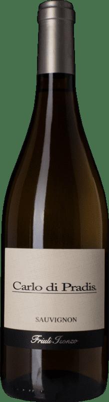 11,95 € Free Shipping | White wine Carlo di Pradis D.O.C. Friuli Isonzo Friuli-Venezia Giulia Italy Sauvignon Bottle 75 cl