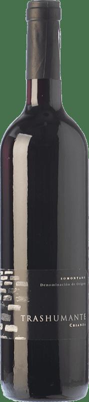 9,95 € | Red wine Carlos Valero Transhumante Crianza D.O. Somontano Aragon Spain Merlot, Cabernet Sauvignon Bottle 75 cl