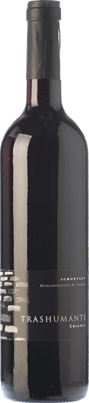 11,95 € Free Shipping | Red wine Carlos Valero Transhumante Crianza D.O. Somontano Aragon Spain Merlot, Cabernet Sauvignon Bottle 75 cl