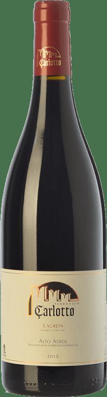 23,95 € Free Shipping | Red wine Carlotto D.O.C. Alto Adige Trentino-Alto Adige Italy Lagrein Bottle 75 cl