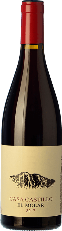 14,95 € Envío gratis | Vino tinto Casa Castillo El Molar Crianza D.O. Jumilla Castilla la Mancha España Garnacha Botella 75 cl