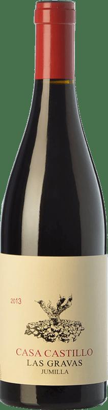 26,95 € 免费送货 | 红酒 Casa Castillo Las Gravas Crianza D.O. Jumilla 卡斯蒂利亚 - 拉曼恰 西班牙 Syrah, Cabernet Sauvignon, Monastrell 瓶子 75 cl
