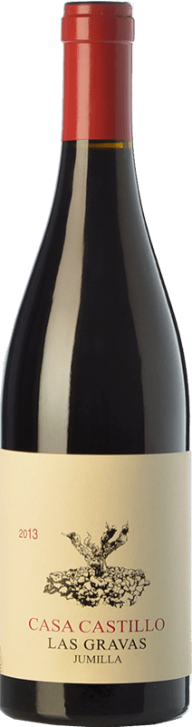 26,95 € Envío gratis | Vino tinto Casa Castillo Las Gravas Crianza D.O. Jumilla Castilla la Mancha España Syrah, Cabernet Sauvignon, Monastrell Botella 75 cl