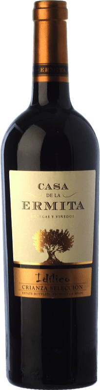 12,95 € Free Shipping | Red wine Casa de la Ermita Idílico Reserva D.O. Jumilla Castilla la Mancha Spain Monastrell, Petit Verdot Bottle 75 cl