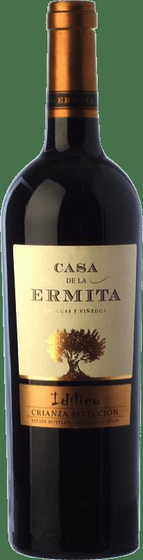 12,95 € Envoi gratuit | Vin rouge Casa de la Ermita Idílico Reserva D.O. Jumilla Castilla La Mancha Espagne Monastrell, Petit Verdot Bouteille 75 cl