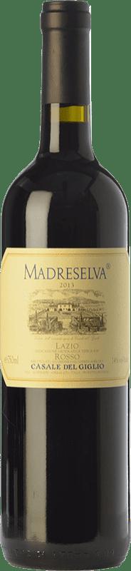 16,95 € Free Shipping | Red wine Casale del Giglio Madreselva I.G.T. Lazio Lazio Italy Merlot, Cabernet Sauvignon, Petit Verdot Bottle 75 cl