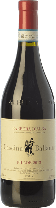 17,95 € Free Shipping | Red wine Cascina Ballarin Pilade D.O.C. Barbera d'Alba Piemonte Italy Barbera Bottle 75 cl