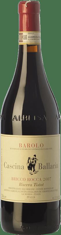 97,95 € Free Shipping | Red wine Cascina Ballarin Riserva Tistot Reserva 2007 D.O.C.G. Barolo Piemonte Italy Nebbiolo Bottle 75 cl