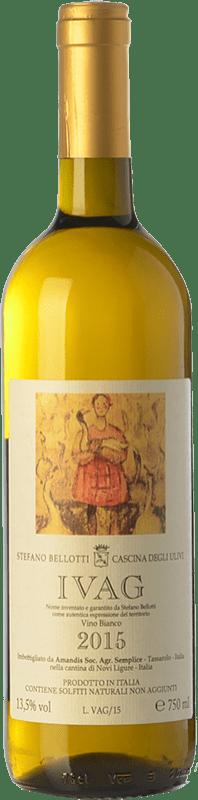 23,95 € Free Shipping | White wine Cascina degli Ulivi Ivag D.O.C.G. Cortese di Gavi Piemonte Italy Cortese Bottle 75 cl
