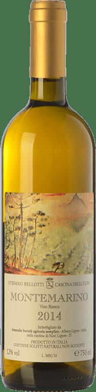 54,95 € Free Shipping | White wine Cascina degli Ulivi Montemarino D.O.C. Monferrato Piemonte Italy Cortese Bottle 75 cl