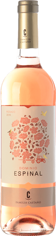 5,95 € | Rosé wine Castaño Dominio de Espinal Joven D.O. Yecla Region of Murcia Spain Macabeo Bottle 75 cl