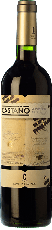 6,95 € | Red wine Castaño Joven D.O. Yecla Region of Murcia Spain Monastrell Bottle 75 cl