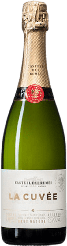 11,95 € | White sparkling Castell del Remei Brut Nature Joven D.O. Cava Catalonia Spain Macabeo, Xarel·lo, Chardonnay, Parellada Bottle 75 cl