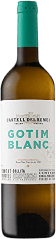 6,95 € 免费送货 | 白酒 Castell del Remei Gotim Blanc D.O. Costers del Segre 加泰罗尼亚 西班牙 Macabeo, Sauvignon White 瓶子 75 cl