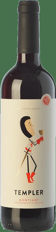7,95 € 免费送货 | 红酒 Castell d'Or Templer Jove Joven D.O. Montsant 加泰罗尼亚 西班牙 Grenache, Carignan 瓶子 75 cl