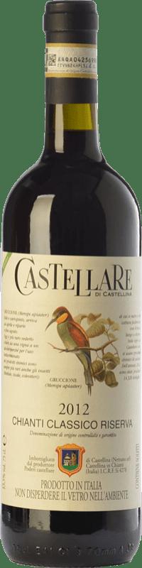 34,95 € Free Shipping | Red wine Castellare di Castellina Riserva Reserva D.O.C.G. Chianti Classico Tuscany Italy Sangiovese, Canaiolo Bottle 75 cl