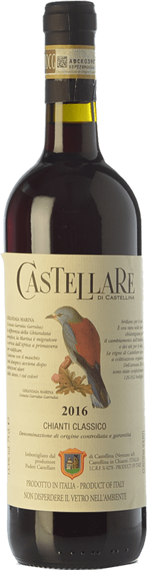 18,95 € Free Shipping | Red wine Castellare di Castellina D.O.C.G. Chianti Classico Tuscany Italy Sangiovese, Canaiolo Bottle 75 cl