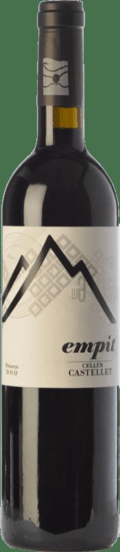 18,95 € 免费送货 | 红酒 Castellet Empit Crianza D.O.Ca. Priorat 加泰罗尼亚 西班牙 Grenache, Cabernet Sauvignon, Carignan, Grenache Hairy 瓶子 75 cl