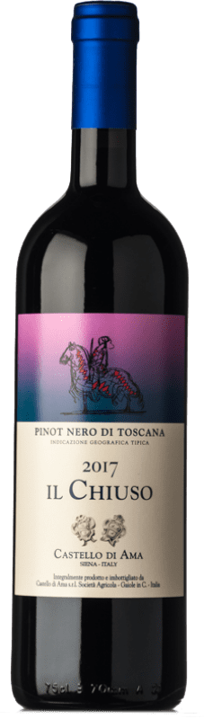 29,95 € Free Shipping | Red wine Castello di Ama Il Chiuso I.G.T. Toscana Tuscany Italy Sangiovese, Pinot Black Bottle 75 cl