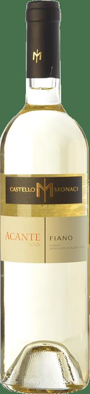 9,95 € Free Shipping | White wine Castello Monaci Acante I.G.T. Salento Campania Italy Fiano Bottle 75 cl