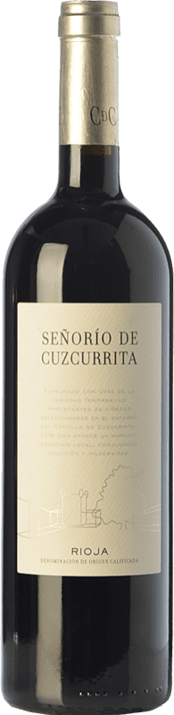 24,95 € | Red wine Castillo de Cuzcurrita Señorío de Cuzcurrita Crianza D.O.Ca. Rioja The Rioja Spain Tempranillo Bottle 75 cl