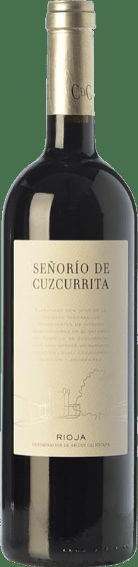 28,95 € Envío gratis | Vino tinto Castillo de Cuzcurrita Señorío de Cuzcurrita Crianza D.O.Ca. Rioja La Rioja España Tempranillo Botella 75 cl