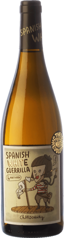 8,95 € | White wine Castillo de Maetierra Spanish White Guerrilla I.G.P. Vino de la Tierra Valles de Sadacia The Rioja Spain Chardonnay Bottle 75 cl