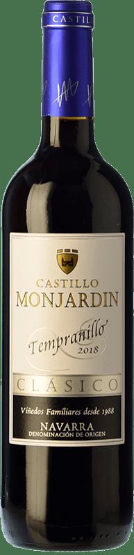 5,95 € Free Shipping | Red wine Castillo de Monjardín Joven D.O. Navarra Navarre Spain Tempranillo Bottle 75 cl