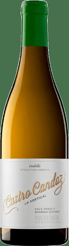 24,95 € Free Shipping | White wine Castro Candaz La Vertical Crianza D.O. Ribeira Sacra Galicia Spain Godello Bottle 75 cl