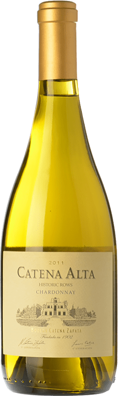 22,95 € | White wine Catena Zapata Alta Crianza I.G. Mendoza Mendoza Argentina Chardonnay Bottle 75 cl