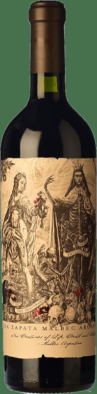 108,95 € 免费送货 | 红酒 Catena Zapata Argentino Reserva I.G. Mendoza 门多萨 阿根廷 Malbec 瓶子 75 cl