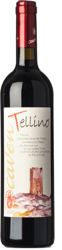 11,95 € Free Shipping | Red wine Caven Tellino I.G.T. Terrazze Retiche Lombardia Italy Nebbiolo Bottle 75 cl
