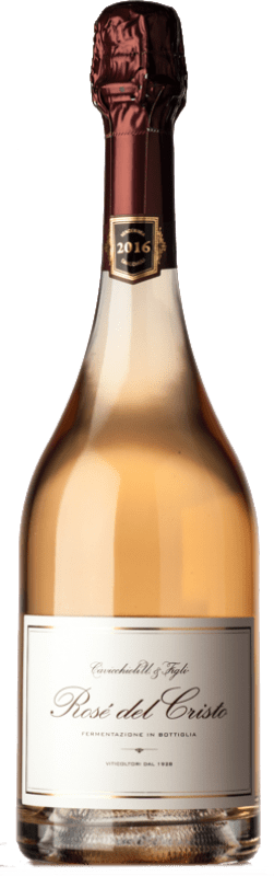 24,95 € | Rosé sparkling Cavicchioli Rosé del Cristo D.O.C. Lambrusco di Sorbara Emilia-Romagna Italy Lambrusco di Sorbara Bottle 75 cl