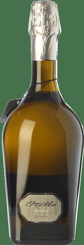 9,95 € Free Shipping | White sparkling Ceci Otello 1813 Malvasia I.G.T. Emilia Romagna Emilia-Romagna Italy Malvasia Bianca di Candia Bottle 75 cl