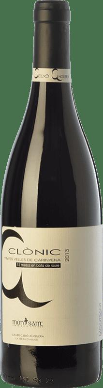 18,95 € 免费送货 | 红酒 Cedó Anguera Clònic Vinyes Velles Carinyena Crianza D.O. Montsant 加泰罗尼亚 西班牙 Carignan 瓶子 75 cl