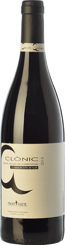 18,95 € Free Shipping | Red wine Cedó Anguera Clònic Vinyes Velles Carinyena Crianza D.O. Montsant Catalonia Spain Carignan Bottle 75 cl