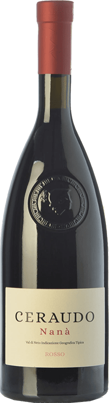 15,95 € Free Shipping | Red wine Ceraudo Nanà I.G.T. Val di Neto Calabria Italy Magliocco, Gaglioppo Bottle 75 cl