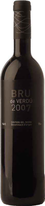 11,95 € Free Shipping | Red wine Cercavins Bru de Verdú Joven D.O. Costers del Segre Catalonia Spain Tempranillo, Syrah Bottle 75 cl
