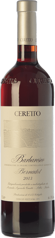 98,95 € Free Shipping | Red wine Ceretto Bernardot D.O.C.G. Barbaresco Piemonte Italy Nebbiolo Bottle 75 cl